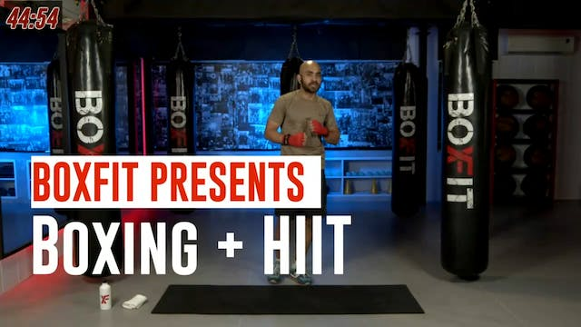 Fri 30/7 8am IST | Boxing + HIIT with...