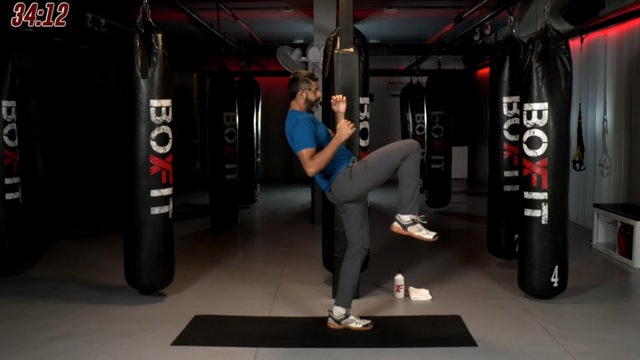 Tue 29/9 7pm  IST | Kickboxing and Cardio with Sameer |
