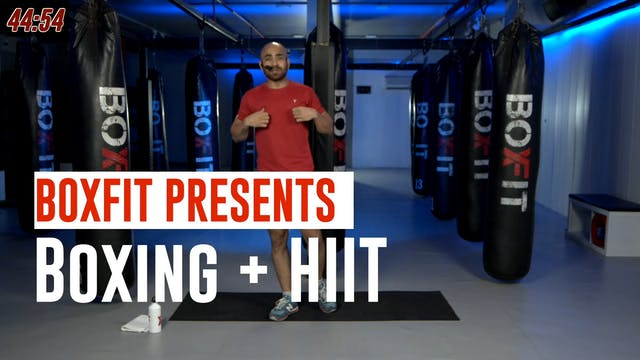 Fri 09/7 8am IST | Boxing + HIIT with...