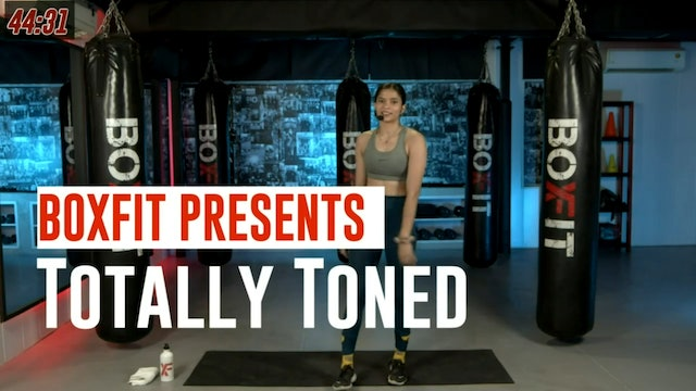 Sat 28/8 6pm  IST   Totally Toned with Dikshika  