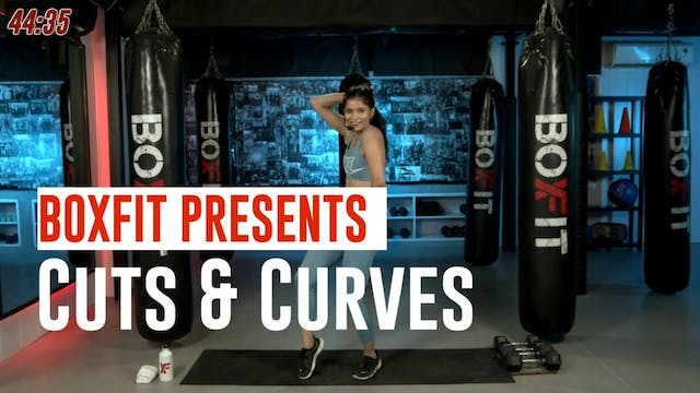 Wed 08/9 6pm  IST | Cuts & Curves wit...