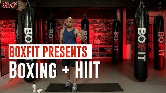 Fri 03/9 6pm  IST | Boxing + HIIT with Ajay |