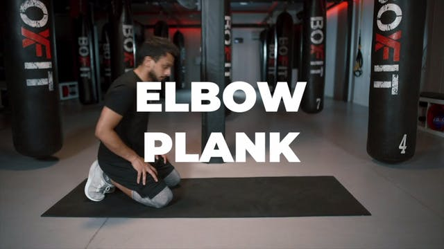 How to do an Elbow Plank