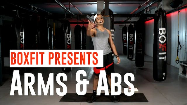Tue 15/12 6pm  IST | Arms & Abs with ...