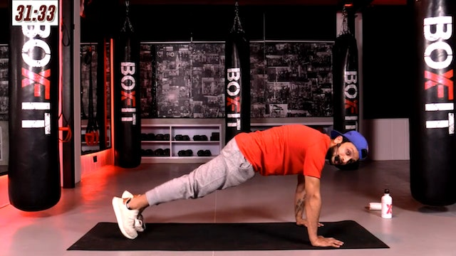 Mon 08/2 7pm  IST   Abs and Cardio with Sid  