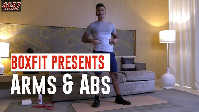 Fri 11/6 6pm  IST | Arms & Abs with M...