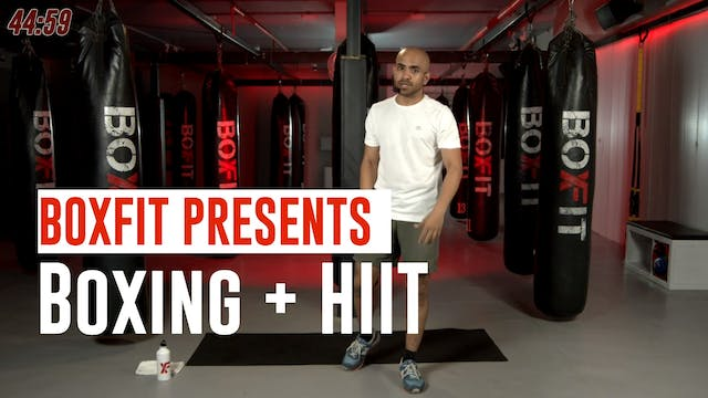 Tue 22/6 8am IST | Boxing + HIIT with...