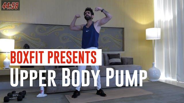 Thur 17/6 9am  IST | Upper Body Pump ...