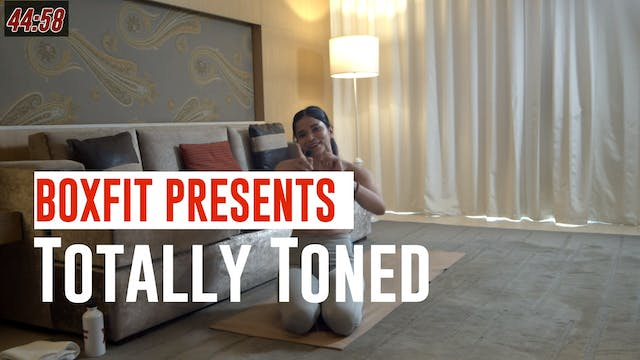 Wed 09/6 6pm  IST | Totally Toned wit...
