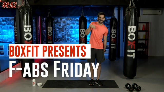 Fri 20/8 6pm  IST | F-abs Friday with...