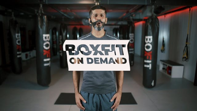 Kick Boxing basics with Sameer