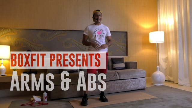 Fri 04/6 6pm  IST | Arms & Abs with M...