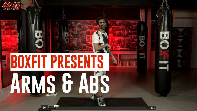 Wed 14/7 8am IST | Arms & Abs with Ra...