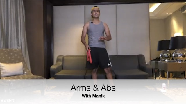 Fri 7/5 6pm IST | Arms & Abs with Manik