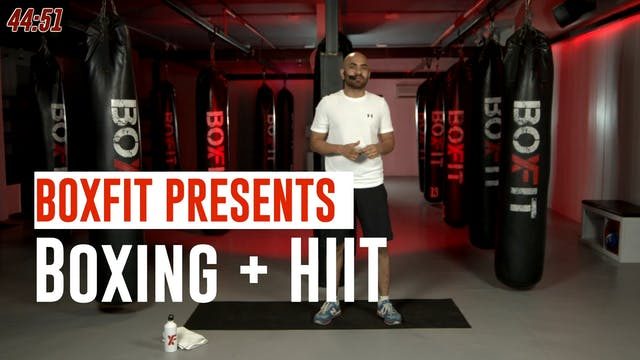 Mon 05/7 8am IST | Boxing + HIIT with...