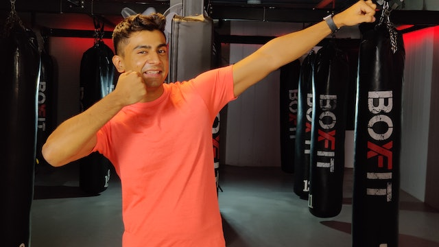 Fri 26/2 6pm  IST | Arms & Abs with Manik |