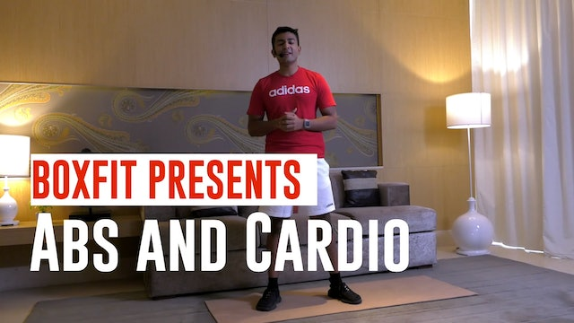 Tue 08/6 6pm  IST | Abs and Cardio with Manik |