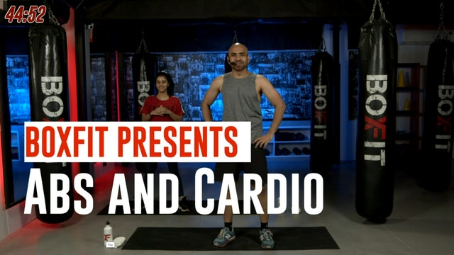 Tue 12/10 6pm  IST | Abs and Cardio with Ajay |