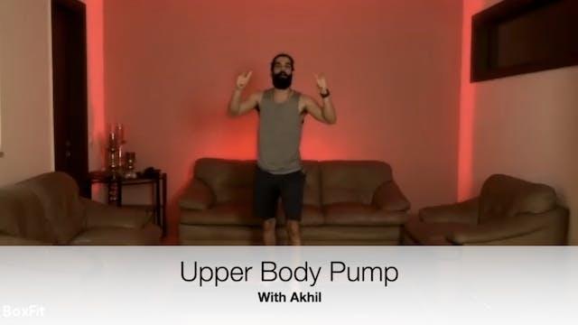Tues 4/5 6pm IST | Upper Body Pump wi...