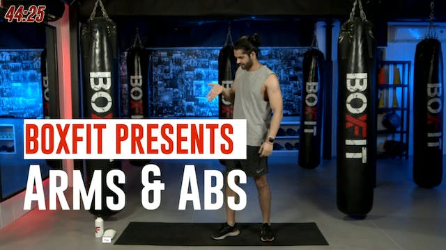 Wed 15/9 6pm  IST   Arms & Abs with A...