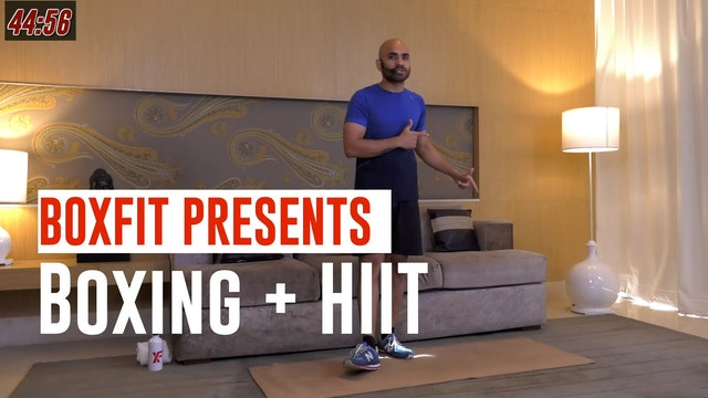 Tue 15/6 9am  IST | Boxing + HIIT with Ajay |