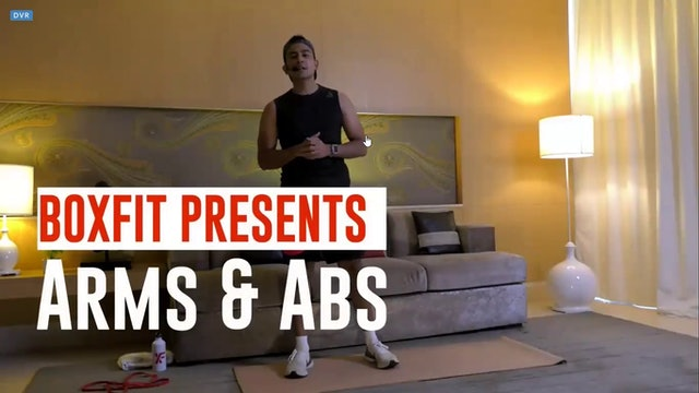 Thur 20/5 6pm  IST | Arms & Abs with Manik |