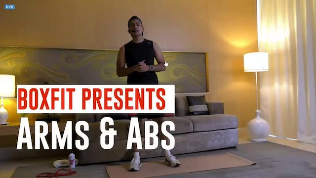 Thur 20/5 6pm  IST | Arms & Abs with ...