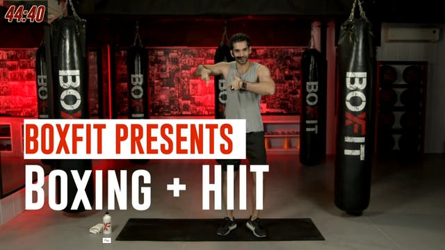 Thur 29/7 6pm  IST | Boxing + HIIT wi...