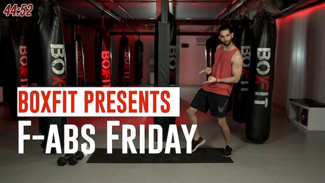 Fri 09/7 6pm  IST   F-abs Friday with Akhil  
