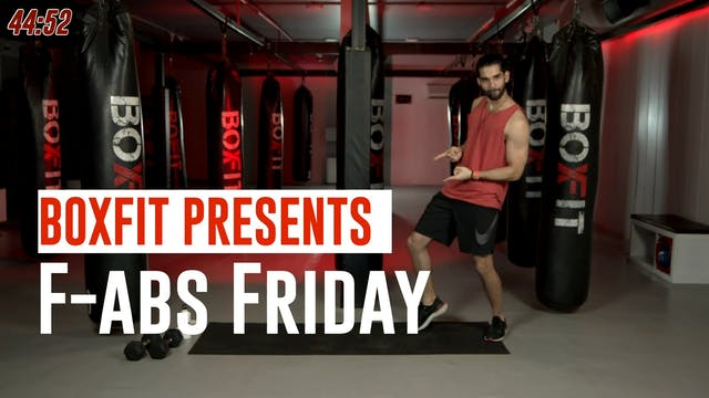 Fri 09/7 6pm  IST | F-abs Friday with...