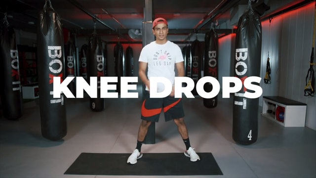 How to do Knee Drops