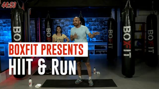 Thur 07/10 6pm  IST | HIIT & Run with...