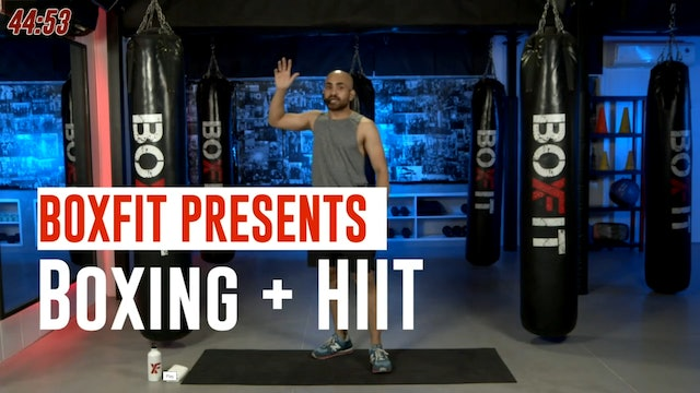 Thur 09/9 6pm  IST | Boxing + HIIT with Ajay |