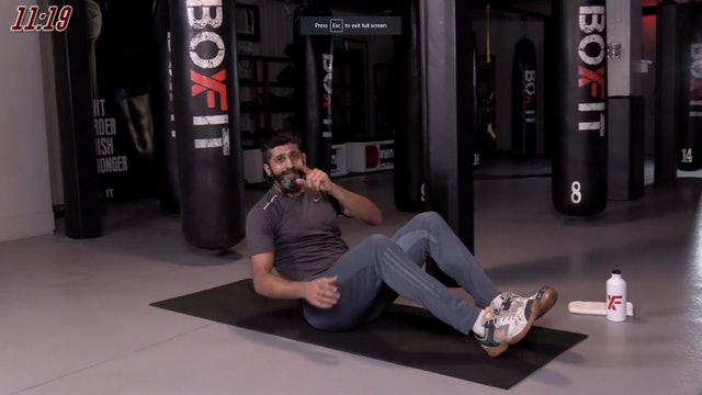 Tue 25/08 7pm IST | Kickboxing and Cardio with Sameer |