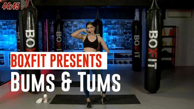 Wed 18/8 6pm  IST | Bums & Tums with ...