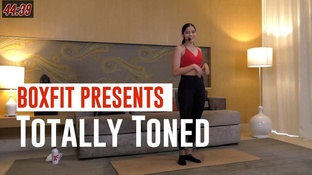 Wed 16/6 6pm  IST | Totally Toned wit...