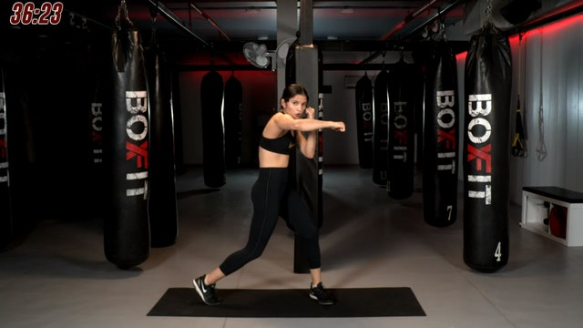 Wed 23/09 6pm IST | Boxing + HIIT with Dikshika |