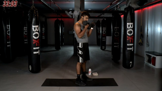 Thur 26/11 7pm  IST   Arms & Abs with Manik  