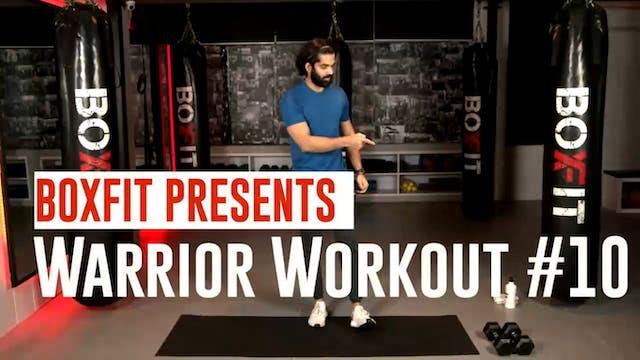 Warrior Workout #10