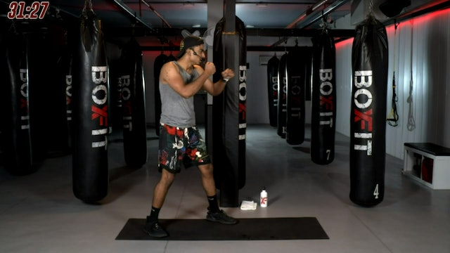Sat 21/11 6pm  IST | Kickboxing and Cardio with Manik |