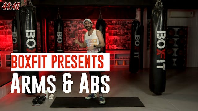 Wed 21/7 8am IST | Arms & Abs with Ra...