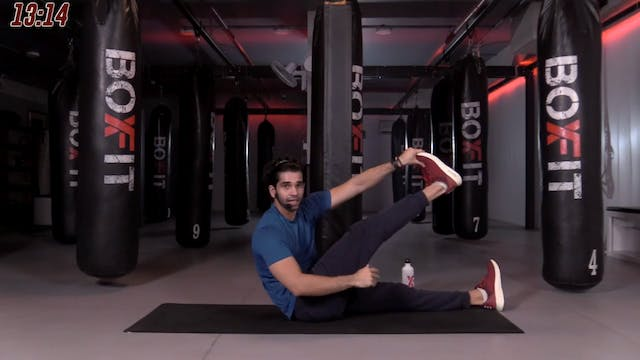 Mon 09/11 7pm  IST   Abs and Cardio w...