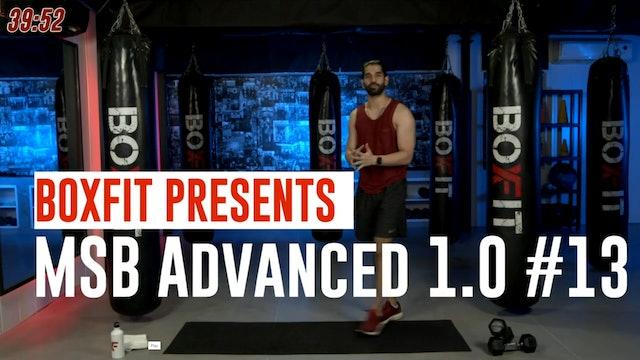 MSB Advanced 1.0 #13