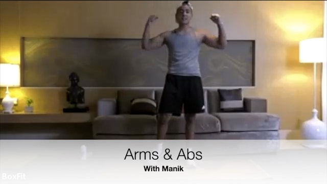 Fri 14/5 6pm IST | Arms & Abs with Manik