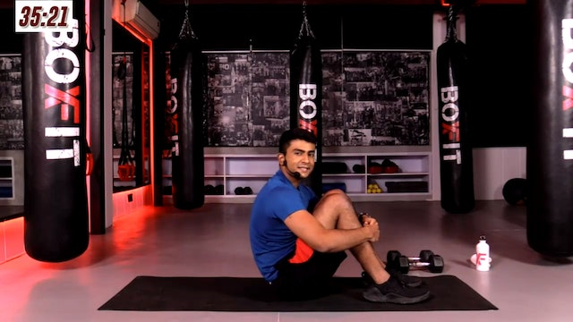 Thur 21/1 6pm  IST | Arms & Abs with Manik |
