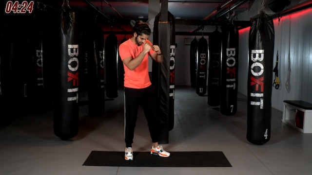 Tue 10/11 6pm  IST | Boxing + HIIT with Akhil |