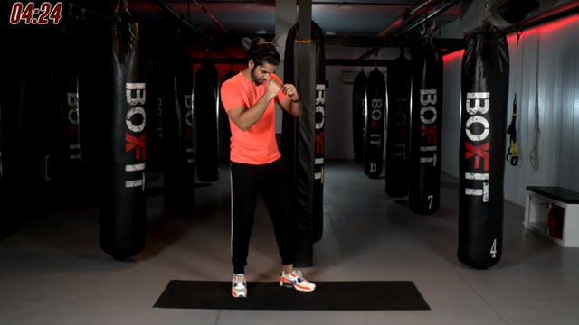 Tue 10/11 6pm  IST | Boxing + HIIT wi...