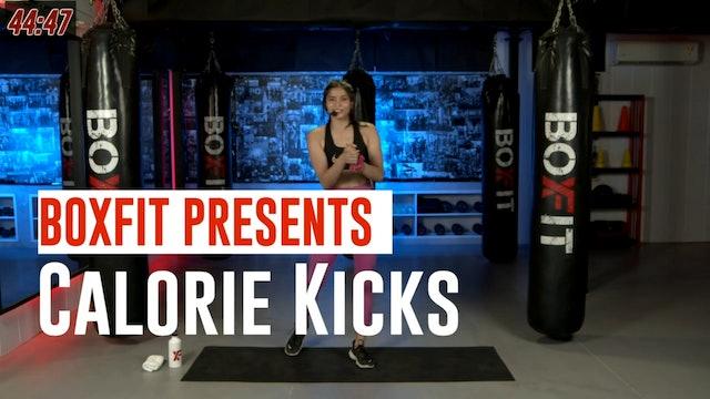 Tue 17/8 6pm  IST | Calorie Kicks with Dikshika |