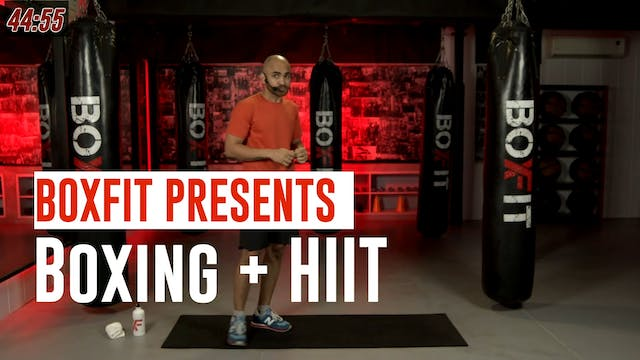 Mon 19/7 8am IST | Boxing + HIIT with...