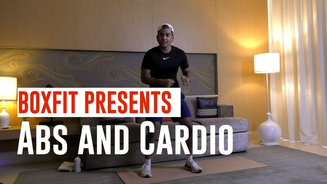 Tue 01/6 6pm  IST | Abs and Cardio with Manik |
